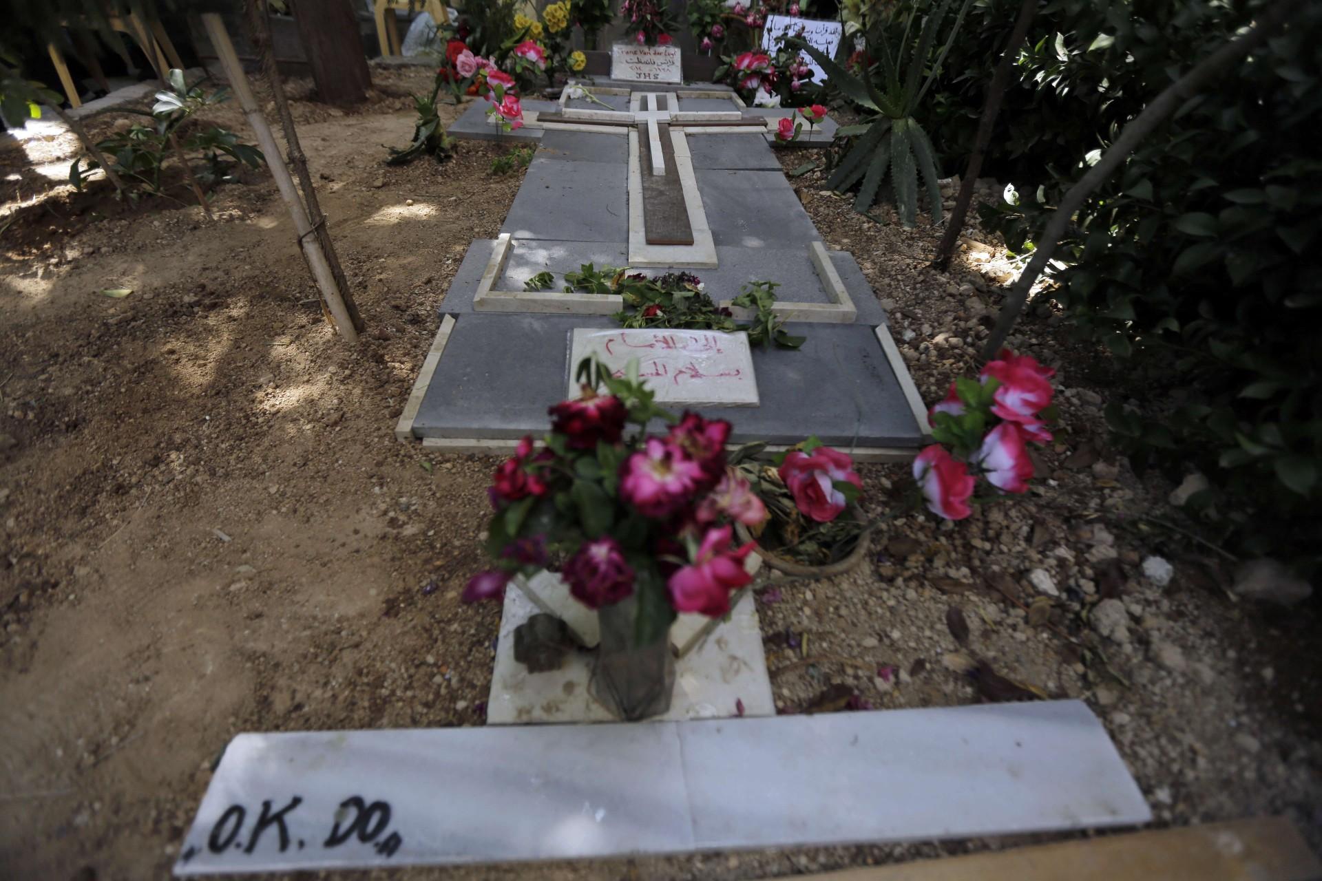 La tomba di Padre Frans