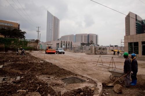 La nuova sede dell'Unione Africana ad Addis Abeba, costruita dai cinesi