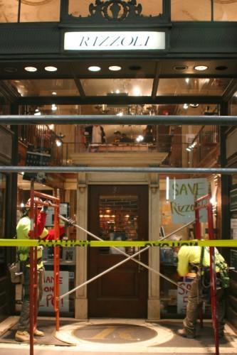 La chiusura della Libreria Rizzoli