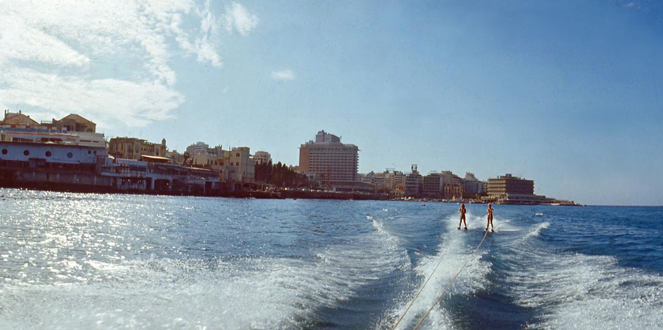 1966, Beirut fotografata da Evaristo Fusar