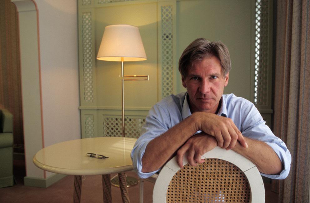 Harrison Ford fotografato da Graziano Arici