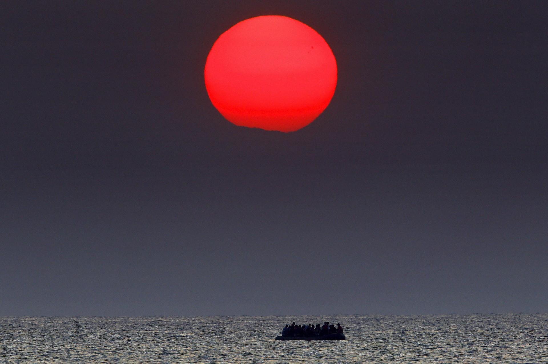 Al largo di Kos, Grecia (REUTERS/Yannis Behrakis)