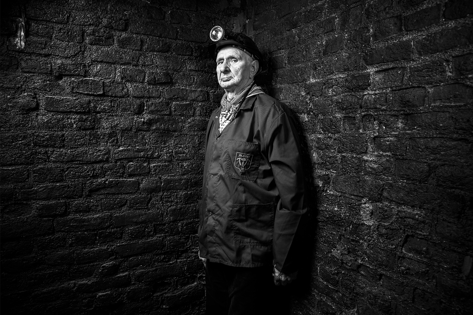 Mario Bandera, ex minatore ed ex guida a Begny-Mine (©DiegoRavier/HansLucas).