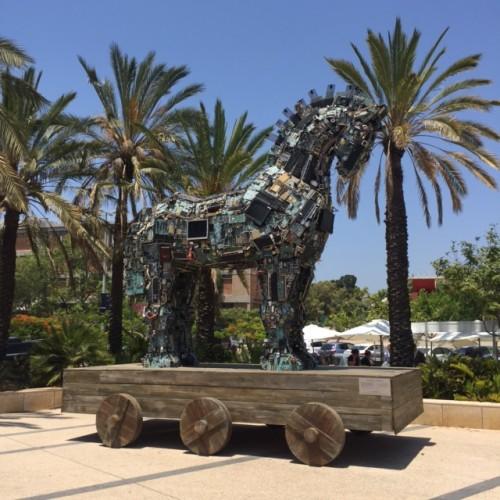 """Il """"cavallo di Troia"""" simbolo della Cyber Week di Tel Aviv"""