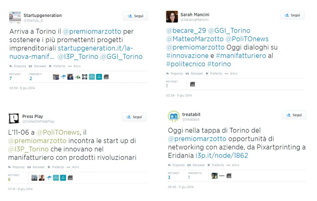 #NuovaManifattura Tweet