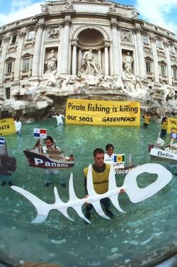 In azione a Roma contro la pesca pirata