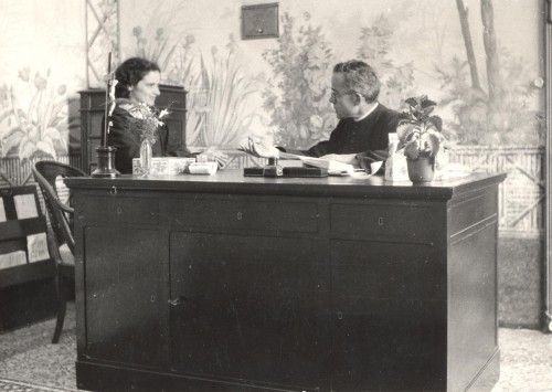 fondatore Luigi Monza con presidente Zaira Spreafico