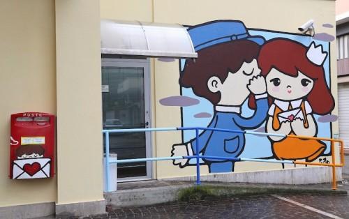 Murales realizzato a Giulianova
