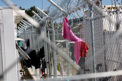 Since 20 March 2016, when the new EU-Turkey deal came into effect in Greece, most of the camps on the islands have been turned into detention centres, and people are taken from the boats directly to the closed facilities. Conditions in the camps are deteriorating rapidly as people continue to arrive. There is a general lack of access to basic services and those inside the camps complain of inadequate food, healthcare and medicines, including for their children. Souda camp in Chios (pictured) is one of the few open camps. It is designed to hold 650 people but there are currently more than 800 people staying there. Some people sleep in overcrowded large tents and others are forced to camp on the beach. Save the Children in Greece has been providing assistance to children and families on the move since August 2015. We have operations in seven key locations in Greece: on the islands of Lesvos, Chios, Samos, Leros and Kos, and on the mainland in the Attika region (Athens) and in Northern Greece. We have now reached more than 350,000 people including more than 128,000 children. Our activities focus on child protection, nutrition, distribution of food and non-food items, such as winter clothing, blankets and solar chargers.