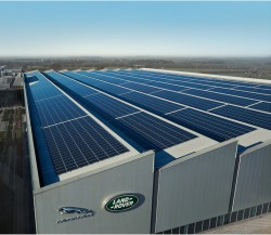 Stabilimento JLR_pannelli solari