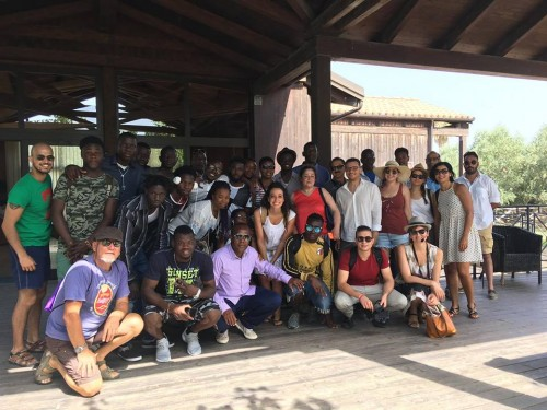Team MEET gita parco Scolacium