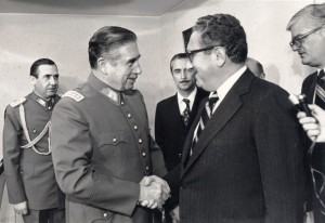 Kissinger con Pinochet