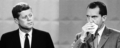 John Fitzgeral Kennedy e Richard Nixon