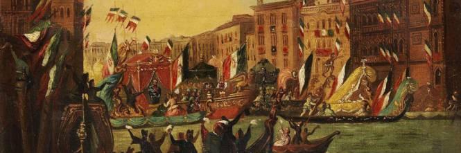 Vittorio Emanuele II entra a Venezia