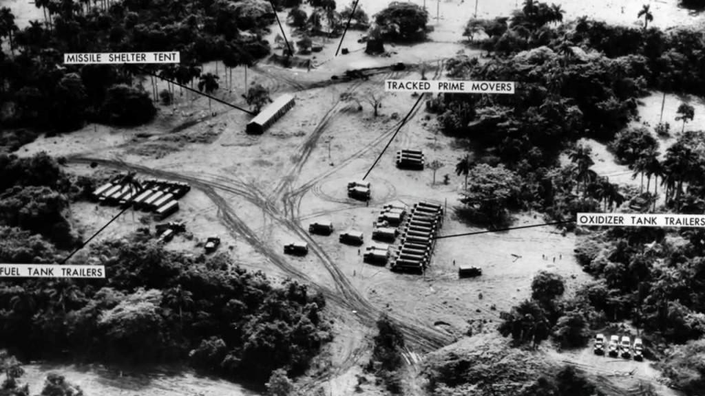 I siti sovietici a Cuba fotografati dagli aerei spia americani