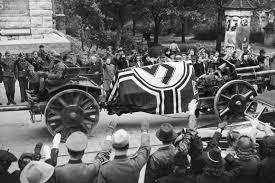 I funerali solenni di Erwin Rommel