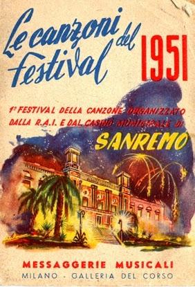 libretto-del-Festival-di-Sanremo-1951