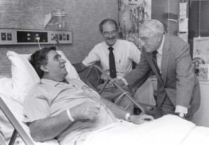 Rocco Morabito e J.D. Thompson visitano Randall Champion nel 1988