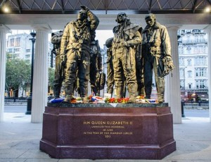 Il Bomber Command Memorial a Londra, Green Park (Foto Raf Benevolent Fund)