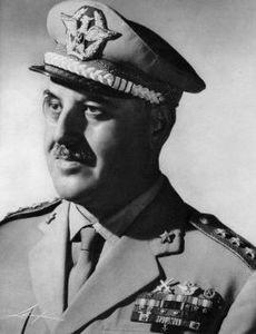 Il generale dei carabinieri Giovanni De Lorenzo