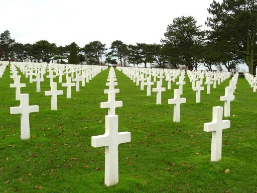 Il cimitero americano di Omaha Beach, in Normandia