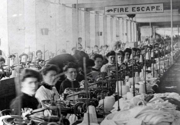 Triangle Shirtwaist Factory - New York City, NY on Pinterest