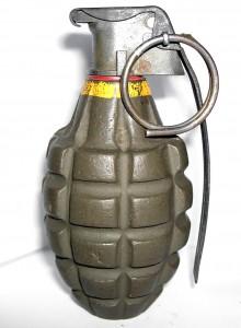Una frag grenade (da Wikimedia)