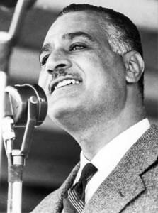Il premier egiziano gamal Abdel Nasser nel 1960 (Wikimedia)