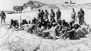 Prigionieri egiziani nel Sinai