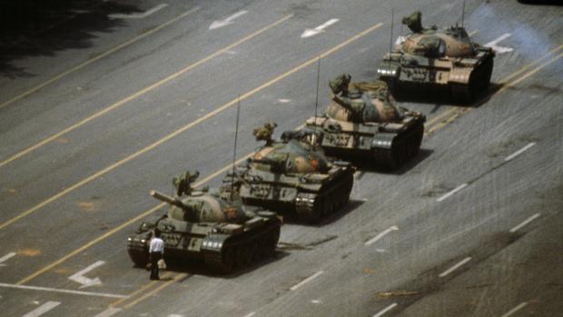 tankman tiananmen hemelse vrede china beijing magnum_0