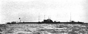 sottomarino giapponese I-58, responsabile dell'affondamento dell'incrociatore Indianapolis