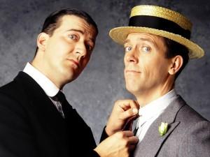 Jeeves e Wooster nell'omomima serie televisiva di inizio anni '90