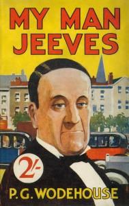 La copertina di una delle tante edizioni inglesi di un volume della saga Wooster-Jeeves