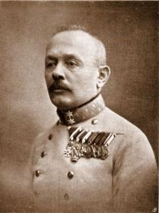 Il geneale austro-ungarico Boroevic