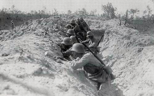 Truppe d'asalto austriache sul fronte isontino (da Wikipedia)