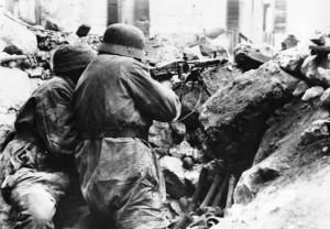 Soldati tedeschi sulla linea Gustav (da Difesa online)