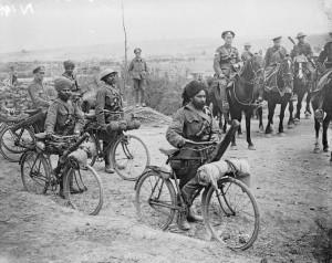 Truppe indiane sul fronte occidentale (1916) da Wikimedia