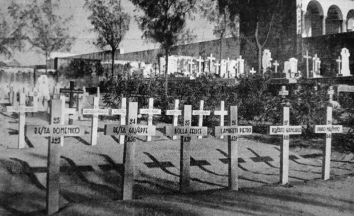 Il cimitero italiano di Mogadiscio (dal sito l'Italia coloniale)