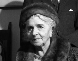 Una immagine della senatrice Lina Merlin del 1971 (ANSA