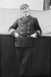 Arthur Henry Roston, comandante del Carpathia nel 1912