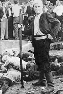 Il «Dispensatore di morte di Kovno» (Wikimedia)