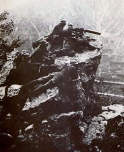 Soldati italiani sul Grappa