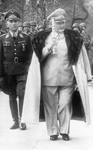 Hermann Goring, comandante della Luftwaffe (Bundesarchiv)