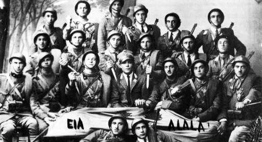 Foto ricordo di un gruppo di Arditi (Wikipedia)