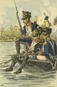 Volteggiatori napoleonici (da Wikimedia)