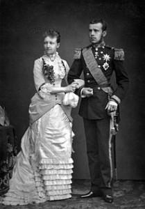 Stefania del Belgio e Rodolfo d'Asburgo (Wikipedia)