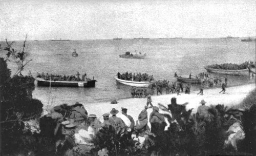 Anzac Bay, Gallipoli (Turchia), 25 aprile 1915 (Wikimedia Commons)