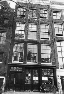 Photo shows the house where Anne Frank lived in Amsterdam and where she hid with her parents to escape from Nazis between June 1942 and August 4, 1944. The Anne Frank house will be marking on April 2010 its 50th anniversary. AFP PHOTO (Photo credit should read DESK/AFP/Getty Images)