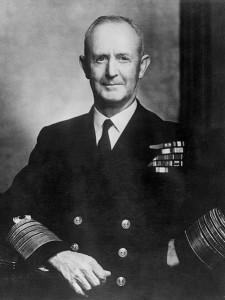 L'ammiraglio Andrew Cunningham nel 1947 (Wikimedia.org)