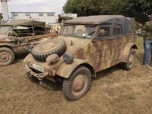 """La Kubelwagen, la versione militare dell'""""auto del popolo"""" (Wikimedia Commons)"""